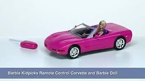 Barbie Remote Control Corvette