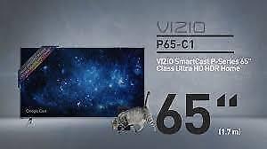 Télévision DEL 65'' P65-C1 4K UHD HDR 240hz SmartCast Vizio A PRIX TRÈS SPÉCIAL AVEC 2ANS DE GARANTIE
