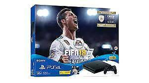 PS4 500gb SLIM, FIFA 18 EDITION (Brand new sealed)