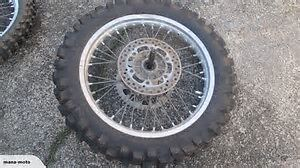 front and rear rims for suzuki RMX250
