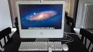 "iMAC 20"" 2.0GHZ,250GB,2GB,DVD-RW,WEBCAM,WORKING VERY GOOD"