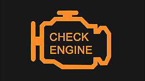 engine light on? fault code reading for 25