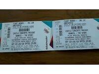 LESS THAN FACE VALUE Runrig Tickets Edinburgh Castle Saturday 23/07/16