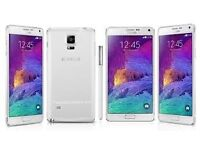 Sim Free Samsung Galaxy Note 4 White 32GB With Warranty