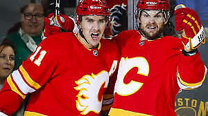 GAME 5 '-April 19 CALGARY FLAMES PLAYOFF TICKETS -