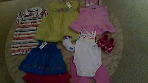 Lot of NEW -TCP- Girl's cothes - Size 12 months