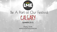 PLAY LME SHOWCASE FESTIVAL IN CALGARY AUGUST 2015 (apply now) Wa