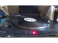 Pioneer PL990 Turntable - Current Model - Built in Phono Preamp - Strobe