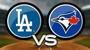 JAYS VS DODGERS upto 6pp Mothers Day Weekend May 6-8