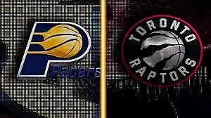 Toronto Raptors vs. Indiana Pacers, April 6 – Lower Bowl