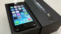 Apple Iphone 5 Black 16 GB, excellent condition $285