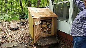 COTTAGERS----CAMPERS--FIREWOOD + BOX