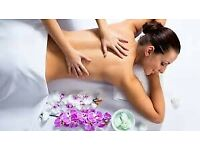 Full body massage with hot oil