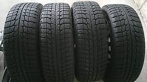 Michelin X Ice winter tires almost new 235 60 18