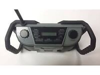 Workzone Rugged DAB Outdoor Radio Battery or Mains also plays MP3s