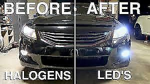 LED LIGHTS INSTALLED ANY MAKE AND MODEL SPECIAL PRICE