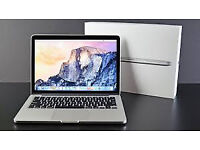 Boxed Immaculate Apple MacBook Pro with 13.3 Inch Retina Display 2.7 Ghz I5 8GB 128GB.