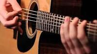 Cours de guitare sur la rive-sud de Québec (20$/h)