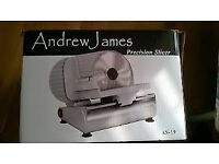 Andrew James Precision Meat Slicer - Brand New in box
