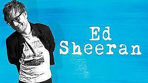 2 x Ed Sheeran - Front GA Tickets - Perth - Fri, 2nd March 2018