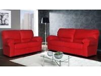 Candy Red 3 + 2 Sofa set