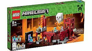 LEGO Minecraft 21122 The Nether Fortress, BRAND NEW, box unopened, Retails £74.99