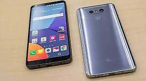 LG G6 ON ROGERS, MINT WITH CASE , BOX AND SCREEN PROTECTOR