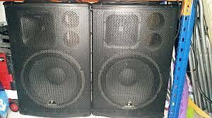 HUGE SPEAKERS