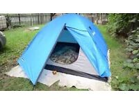 Arpenaz 2+ Camping tent 2 people and storage space