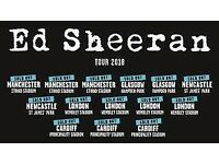 Ed sheeran standing tickets x 2 - 2 june ID for access provided