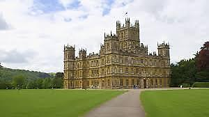 VISITE À DOWNTON ABBEY ANGLETERRE  (1 billet)