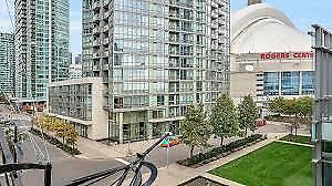 Trendy Toronto Down Town Location, Large One Bedroom For Sale