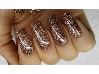 glitter uv nail gel builder phantom platinum