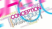 Cartes, Logo, dépliants, accroche porte, Infographie, Graphiste