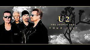 TWO U2 Toronto - Great Seats are right over stage! Best OFFER!