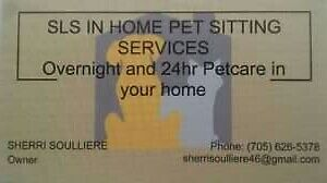 Insured 1 hour,,12hr and 24hr In Your Home Pet Sitter