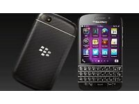 BlackBerry Q10 - 16GB - smartphone (Unlocked) QWERTY/AZERTY AND TOUCHSCREEN