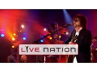 Jeff Lynne's ELO - two concert tickets for 02 arena