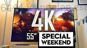 SPECIAL! TV LED SAMSUNG   TV LG SONY SHARP SMART TV 4K UHD SMART TV HAIER 4K ULTRA HD VIZIO TV 4K CELLULAIRE DEVEROUILLÉ