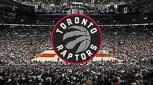 RAPTORS TICKETS INCLUDING OPENING GAME $60 A TICKET 324 ROW 8