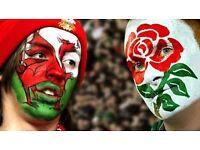 4 x Tkts - Wales V England Six Nations 11 Feb Cardiff - Amazing Seats