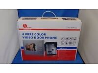 1byone 4 wire colour video door phone