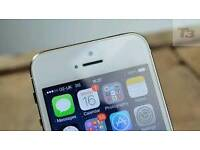 Apple iPhone 5S great A selver colour! ! Unlocked 4G 16 gb
