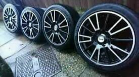 "16"" 4 stud fox racing R3 alloys"