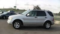 2000 Mercedes-Benz ML320 very good condation