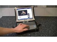 Panasonic Toughbook cf-19 mk1 touchscreen enabled ideal diagnostics or chartplotter XP or 7