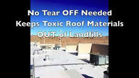 Flat roof repair&recovery 3 or 5yr interest free financing!
