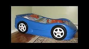 Fisher price car bed excellent condition