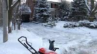 Driveway and Sidewalk Snow Clearing