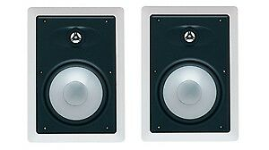 Energy EAS-6W In-Wall Speakers (Pair, White)  Like new , No box